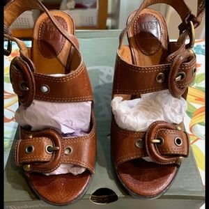 Frye Amy Sling Back Sandals Great Condition